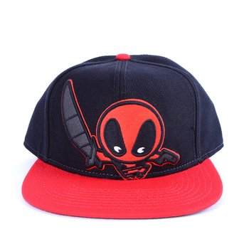 Marvel Kawaii Deadpool Black Snapback 1 9147f1e73c86