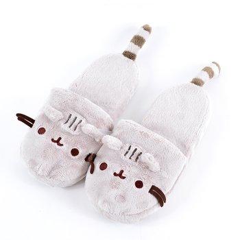 1251b5db108 Pusheen Plush Slippers 1