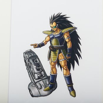 Akira Toriyama Reproduction Art Print - Dragon Ball: The Complete Edition  14 2
