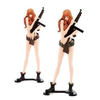 Figure Fujiko Mine 25cm Version Green In Series Glitter Glamours Banpresto Lupin Clients First Action Figures