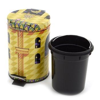 kirby vs meta knight garbage bin