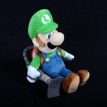 Luigi With Poltergust 5000 Plush Luigis Mansion Dark Moon