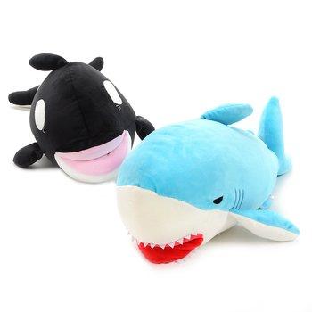 Mochi Mochi Biting Shark & Orca Plush Collection