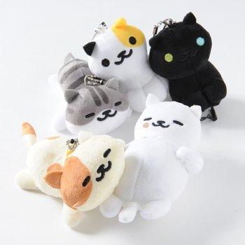 Neko Atsume Phone Cleaner Mascot Plush Collection