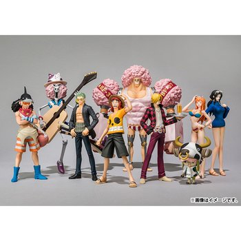 One Piece Film: Z Opening Clothes Trading Figures