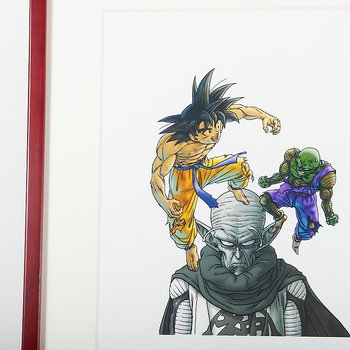 Akira Toriyama Reproduction Art Print - Dragon Ball: The Complete Edition  13 2