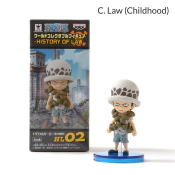 One Piece World Collectible Figures - History of Law