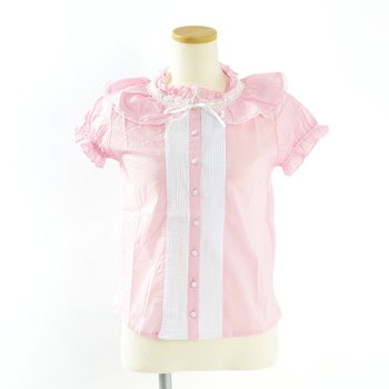 0c570994039d9 Swankiss Frilly Pintuck Blouse 1