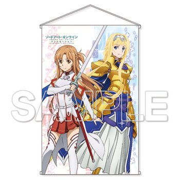 Sword Art Online: Alicization Asuna & Alice Knight Ver. HD Tapestry