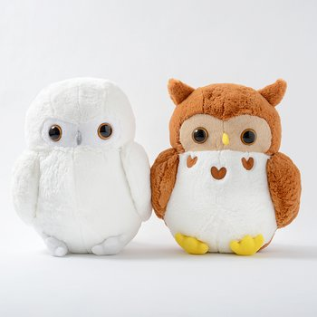 Fukuro Hoho Owl Plush Collection Big Tokyo Otaku Mode Shop