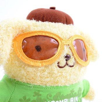 36696d32309 Pompompurin Bean Doll Sunglasses Plush 6