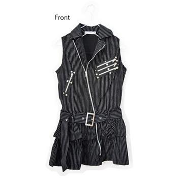 Acdc Rag Punk Zip Up Sleeveless Dress Tokyo Otaku Mode Shop