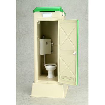 Mabell Original Miniature Model Series 1 12 Scale Portable Toilet TU R1W. Mabell Original Miniature Model Series 1 12 Scale Portable Toilet