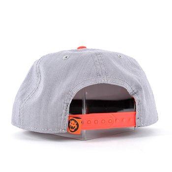 quality design b95d6 ae9d3 Nintendo Bowser Rubber Sonic Weld Gray Orange Snapback 5