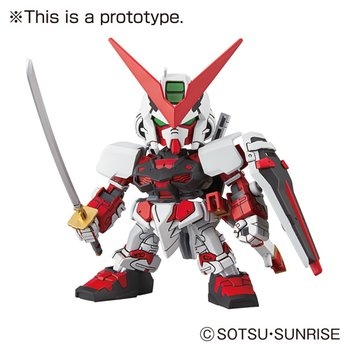 SD EX Standard Gundam Astray Red Frame Gundam Seed Model Kit