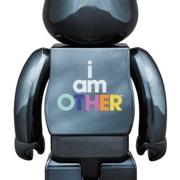 daa48276f7959 BE RBRICK I Am Other Black Ver. 400%