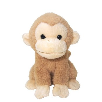 Fluffies Medium Beige Monkey Plush Tokyo Otaku Mode Shop