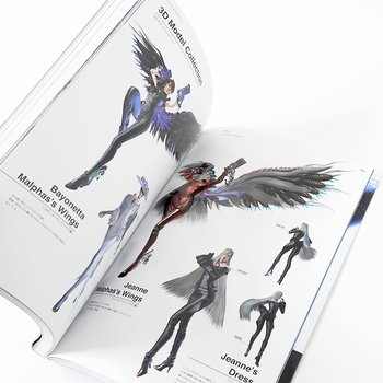 Bayonetta 2 Official Settings Collection Book The Eyes Of 7