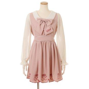 7f00b67684e LIZ LISA Scalloped Cherry Dress 1
