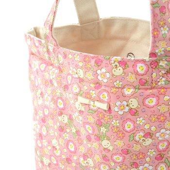 Korilakkuma Strawberry Flower Mini Tote Bag | Tokyo Otaku Mode Shop