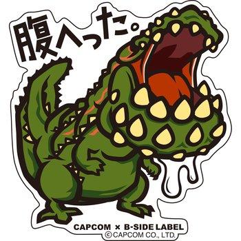 Capcom x b side label monster hunter stickers 5