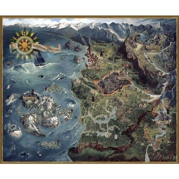 The Witcher 3: Wild Hunt Puzzle: Northern Realms Map | Tokyo Otaku ...