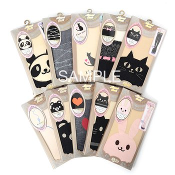 picture of Kawaii Tights Lucky Bag: 10 Pairs 1