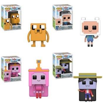 Pop Tv Adventure Time X Minecraft Complete Set Tokyo Otaku