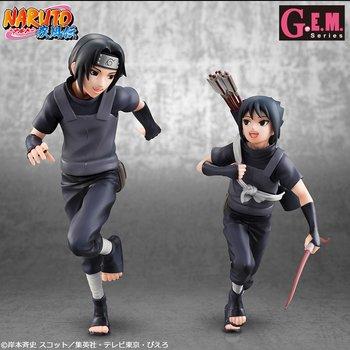 g e m series naruto shippuden itachi uchiha sasuke uchiha set