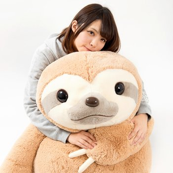 Namakemono No Mikke Sloth Plush Super Jumbo Tokyo Otaku Mode Shop