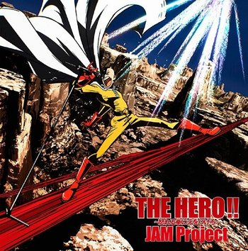 TV Anime One-Punch Man Opening Single (Anime Ver ) THE HERO!!
