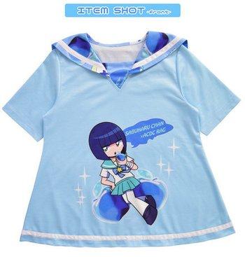 76ce082c ACDC RAG Sabukaru-chan Short Sleeve Sailor T-Shirt | Tokyo Otaku ...
