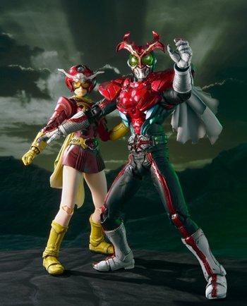 Kamen Rider Stronger Cosplay