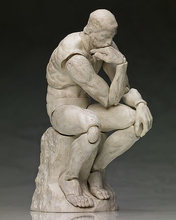 figma the table museum the thinker plaster ver re run tokyo