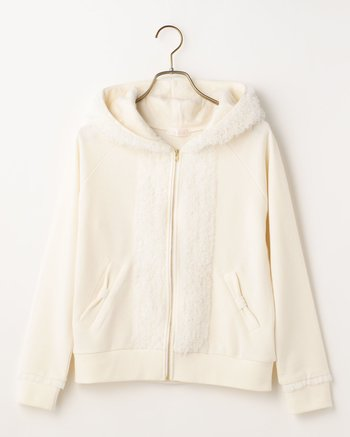 f8cce4584 LIZ LISA Mesh Frill Hoodie | Tokyo Otaku Mode Shop