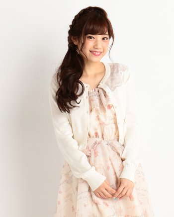 LIZ LISA See-Through Lace Shoulder Cardigan | Tokyo Otaku Mode Shop