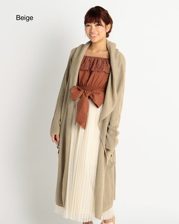 LIZ LISA Extra-Long Hooded Cardigan | Tokyo Otaku Mode Shop