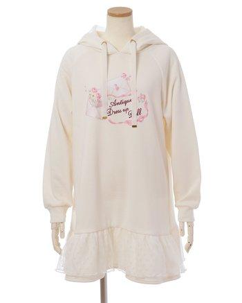 72e8de479 LIZ LISA Love Letter Fleece-Lined Hoodie Dress | Tokyo Otaku Mode Shop