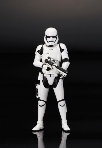 ARTFX+ Star Wars First Order Stormtrooper Single Pack 1
