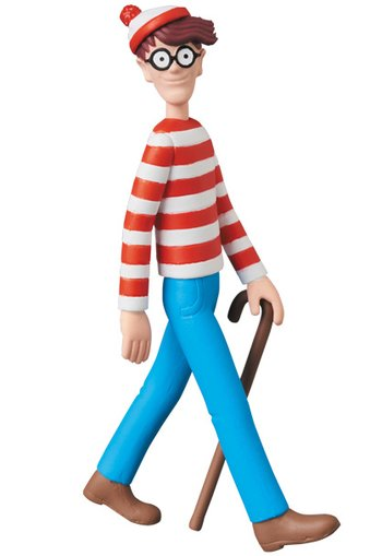 ultra detail figure wheres wally wally tokyo otaku mode shop