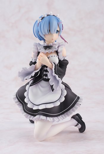 Action & Toy Figures New Arrival Re:life In A Different World From Zero Anime Action Figure Rem Ram Maid Sitting Ver Model Kneeling Decoration Doll 50% OFF