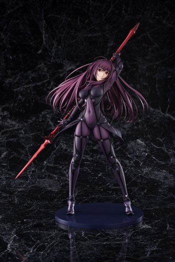 Fate grand order lancer scathach 1 7 scale figure - Fate grand order lancer wallpaper ...