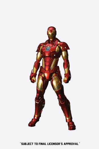 Re:Edit Iron Man #01: Bleeding Edge Armor 1