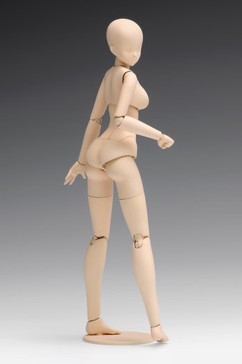 1/12 Scale Movable Body Female Type [Standard] Plastic Model