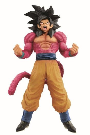 dragon ball gt super master stars piece goku super saiyan iv the