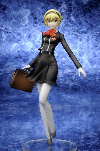 Persona 3 Portable - Aigis School Uniform Ver
