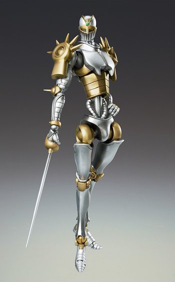 Super Action Statue Silver Chariot Second (Hirohiko Araki Color Variant)