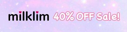 milklim 40% OFF SALE