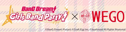 BanG Dream! × WEGO 2nd collab