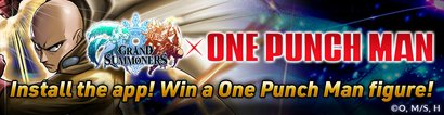 Grand Summoners One Punch Man Giveaway